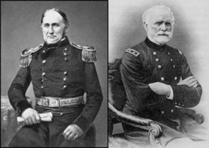 two 19th-century generals