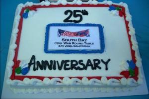 Anniversary 25 cake