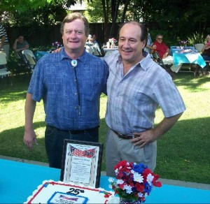 David Woodbury and Ted Savas