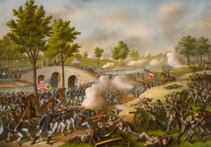 Burnside's Bridge at the Battle of Antietam (Wikipedia)