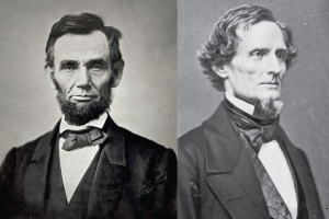 Lincoln and Davis (Wikipedia)